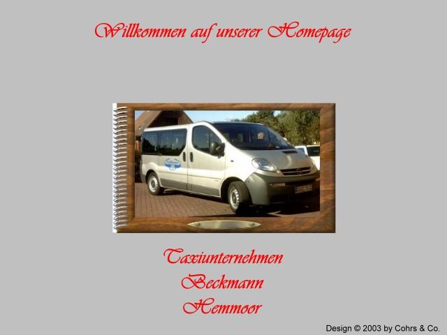 taxi cuxhaven minicar